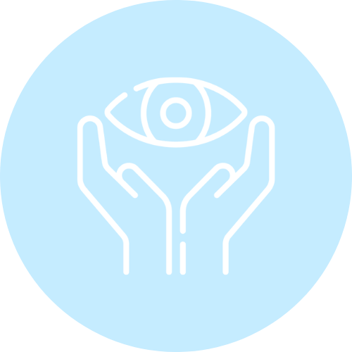 General eye care icon.